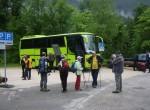 Z avtobusom smo se pripeljali do kraja Ramsau pri Berchtesgadnu  na spodnjem Bavarskem v Nemčiji