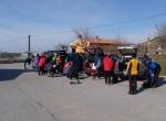 Tokratni izlet, ki se ga je udeležilo 19 udeležencev, je  potekal po prostranem kraškem ozemlju: od Ocizle prek Beke v dolino Glinščice do Botača, nato navzgor na razgledišče  Griže in preko Krasa nazaj v Ocizlo.