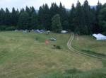Letošnje spanje v šotorih smo si zamislili visoko nad  Lovrencem na Pohorju, daleč stran od vsakdanjega hrupa.