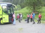 Avtobus nas je pripeljal na izhodišče Einziger Boden na višini  1400 m.
