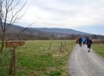 Pohod na Kokoš (674m) smo začeli v kraju Lokev