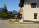 Turistična kmetija Strevc – Selišnik z lepim pogledom na  Kamniške alpe.