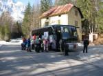 Izhodišče ture v dolini Zajezera.