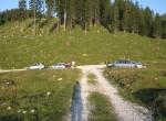 Pohod smo začeli na planini Pungrat.