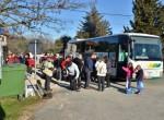 Ne zgodi se vsak dan, da je udeležencev več kot pa je sedežev  na avtobusu. Našo turo smo začeli v kraju Kaldanija.