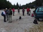 12 se  nas je zbralo, da gremo pogledat, kako je na vrhovih nad Soriško planino.