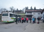 Naš izlet se  je pričel v Podlipoglavu.