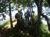 Na vrhu Grmade se dobim s preostalimi udeleženci našega MDO,  le še trije so bili iz Vrhnike