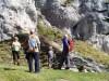 Še kratek postanek pri kraški jami, pa hajd v dolino.