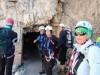 Vzpon na Monte Paterno smo pričeli skozi rov nad sedlom Forcela Lavaredo.