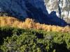 Pogled v zatrep doline Kot